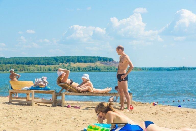 Пляж на Авангарде