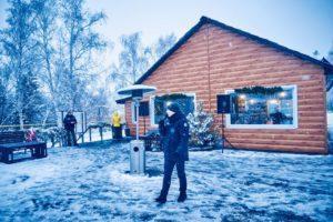 Зимнее кафе