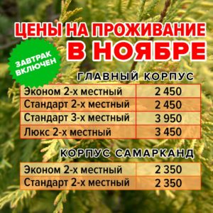 Цены в ноябре